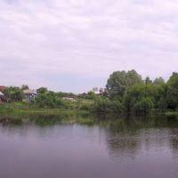 Панорама вербовского пруда, Вербовский