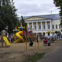 в парке, Владимир