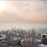 Вид с водонапорной башни, Владимир
