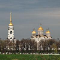 Владимир. Вид на Успенский собор, Владимир