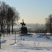 2008-01-03 Владимир 001 Смотровая площадка, Владимир