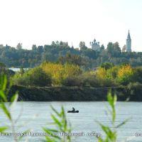 Вид на Троицкий собор с берега реки Клязьмы города Вязники Владимирской области, Вязники