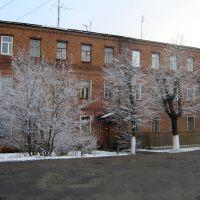 Здание старой поселковой администрации, Городищи