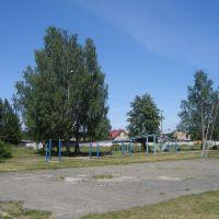 Спортплощадка рядом со школой, Городищи