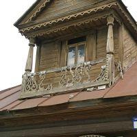 деревянный домик, Гороховец