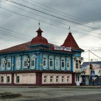 трасса М-7. Дом Кучина. Старинный город  Гороховец, Гороховец