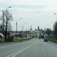 Вид на Церковь Казанской иконы Божией Матери (Год постройки: 1708.), Гороховец