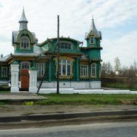 загородный дом судовладельца и заводчика М.И.Шорина, Гороховец