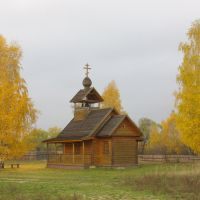 Museum of a wooden art / Музей деревянного зодчества, Иванищи