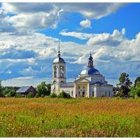 Церковь Вознесения Господня, Иванищи