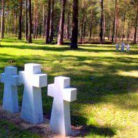 Немецкое кладбище, Камешково