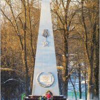 Памятник ВОВ в Камешково, Камешково
