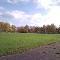 Стадион. Футбольное поле, Камешково