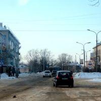 Перекрёсток ул. Ленина и Свердлова, Камешково