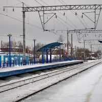 остановка-платформа г. Камешково, Камешково