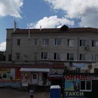 Центральная часть города Камешково, Камешково