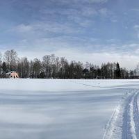 Cтадион зимой, Карабаново