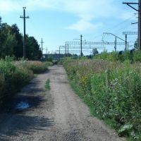 Дорога вдоль ЖД, Карабаново