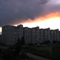 Россия - Вечерний  г. Карабаново., Карабаново