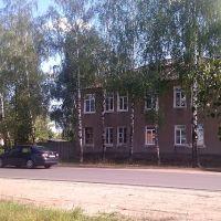 дом на ул. Ленинградская, г. Киржач, август 2012, Киржач
