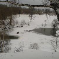 рыбаки  на реке киржач, Киржач