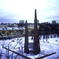 А из нашего окна- площадь снежная видна, Ковров