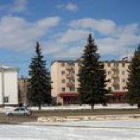 Панорама площади Ленина, Кольчугино
