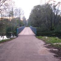 пешеходный мост через р.Унжа (т.н. Фабричный мост), Меленки
