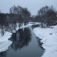 Унжа. Вид с Кузнечного моста, Меленки