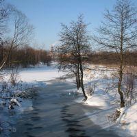 Река Унжа (Unzha River), Меленки