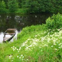 Дождливый день на Реке (Rainy day on the River), Меленки