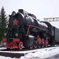 Паровоз на станции Муром, Муром
