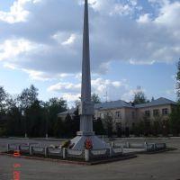 Советская площадь, Памятник Воинам Освободителям 1941-1945, Петушки