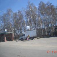Петушки, Владимирская область. Остановка на трассе Москва - Уфа, Петушки