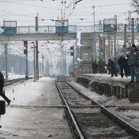 Petushki, railway station., Петушки