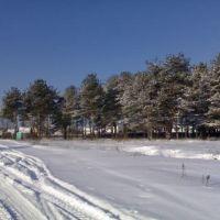 Дорога Покров - Глубоково, Владимирская область 1 марта 2007, Покров