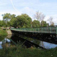 Пешеходный мост в Судогде, Судогда
