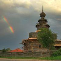 Вид на музей деревянного зодчества, Суздаль