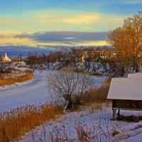 Kamenka River Suzdal Russia, Суздаль