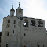 Спасо - Ефимиев монастырь. Звонница. Savior - Efimov Monastery.  The belfry., Суздаль