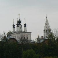 View to Pokrovskiy monastery, Суздаль