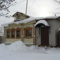 One of new accurate houses, Суздаль