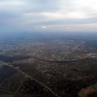 Approximately over Vodstroy settlement, Кириллов