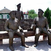 памятник казакам, станица Алексеевская, Алексеевская