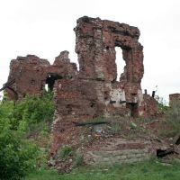 Руины командного пункта 138 Краснознаменной стрелковой дивизии., Алущевск