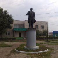 Leninstatue, Алущевск