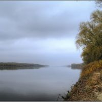 Don River, Volgograd region, Russia October 2008, Алущевск