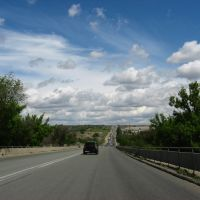 3-я продольная. The third bypass road of Volgograd., Алущевск