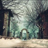 Зимний мистический двор, Алущевск