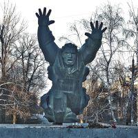Памятник герою, Алущевск